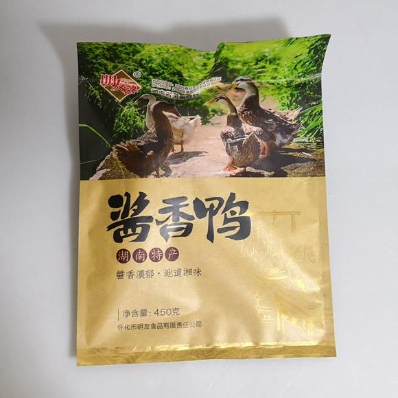 芷江鸭 酱香鸭 450克